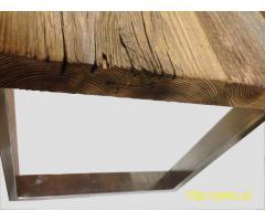 Stoły ze starego bądź nowego drewna na wymiar