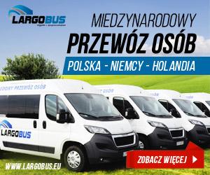 Przewóz osób Polska Holandia Niemcy Codziennie bez przesiadek