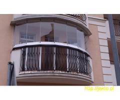 Zabudowa balkonów i tarasów, balustrady, zadaszenia, ogrody zimowe