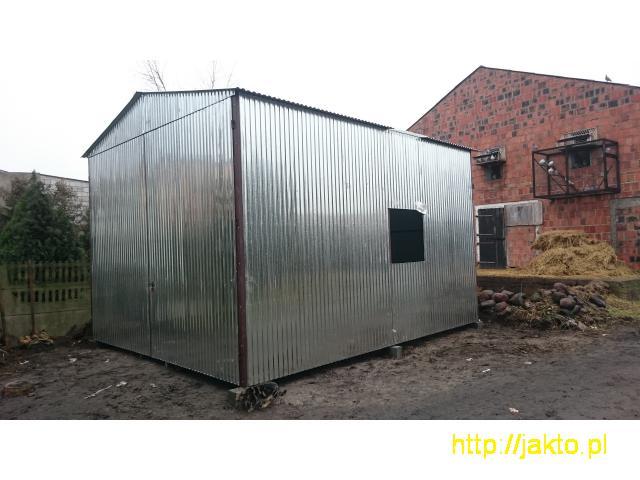 Garaż garaże blaszane imitacja drewna , ocyn, akryl 3x5 6x6 wiaty! Producent! - 7/10