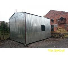 Garaż garaże blaszane imitacja drewna , ocyn, akryl 3x5 6x6 wiaty! Producent!