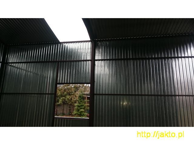 Garaż garaże blaszane imitacja drewna , ocyn, akryl 3x5 6x6 wiaty! Producent! - 9/10