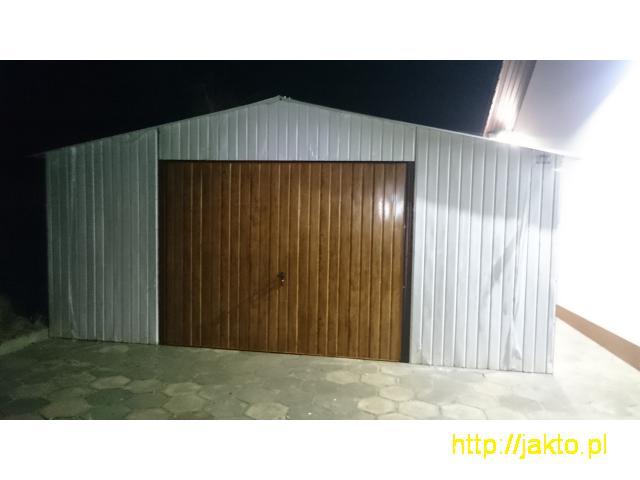 Garaż garaże blaszane imitacja drewna , ocyn, akryl 3x5 6x6 wiaty! Producent! - 10/10