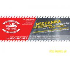 Mechanika pojazdowa Poznań