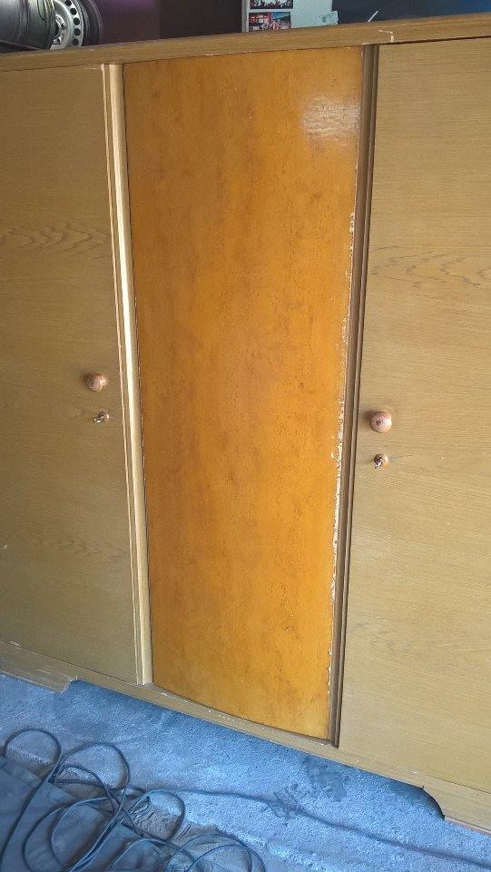 Wyjątkowy komplet do sypialni z 1954roku OKAZJA