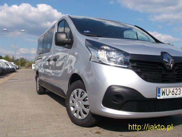 Renault Traffic- bus - wynajem - 1/3