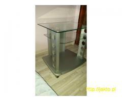 Sprzedam tanio bardzo ładny stolik RTV szklany,okazja,idealny
