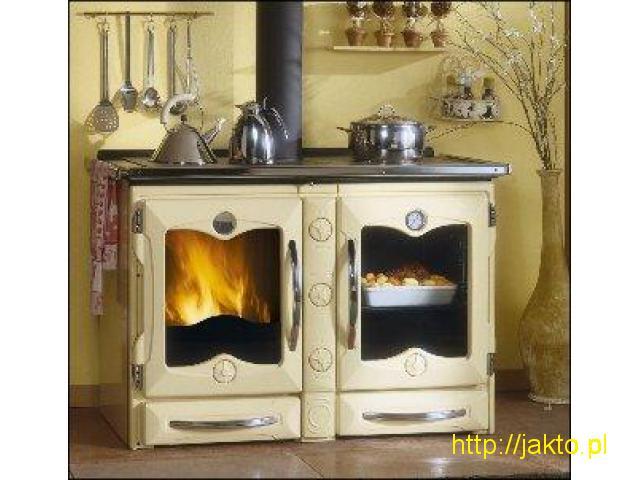 Kuchnie węglowe, na drewno, gazowe, elektryczne