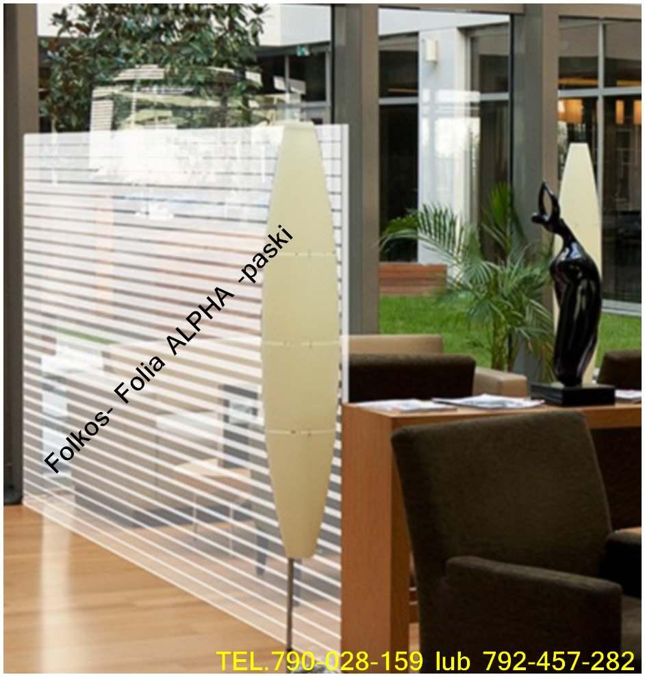 Folie do dekoracji okien- Folie dekoracyjne samoprzylepne Warszawa
