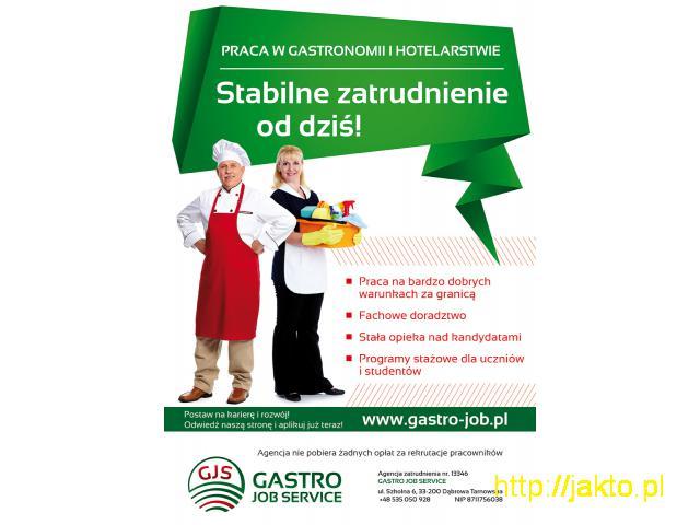 Kelner/Kelnerka 1200 Eur Netto + Napiwki - 1/1