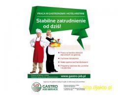 Kelner/Kelnerka 1200 Eur Netto + Napiwki
