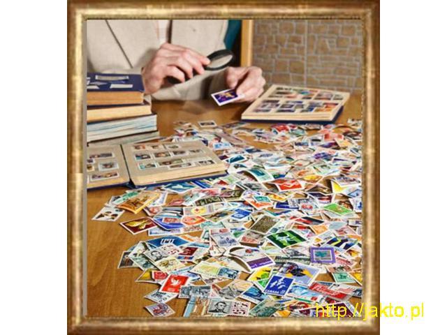 Skup znaczków pocztowych,kolekcji filatelistycznych Dojazd do klienta