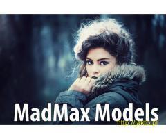 Praca Modelka - sesja