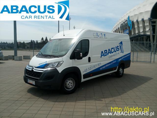 Citroen Jumper L4H2- ABACUS/ Wypożyczalnia samochodów i motocykli - 1/4