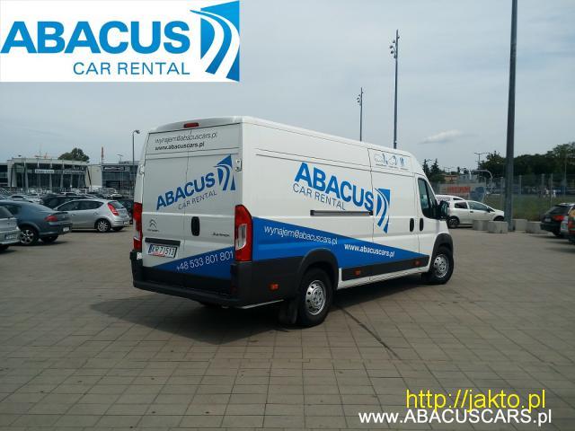 Citroen Jumper L4H2- ABACUS/ Wypożyczalnia samochodów i motocykli - 3/4