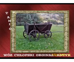 NAJTANSZY CHŁOPSKI wóz zabytkowy z lat 1940r.Antyk