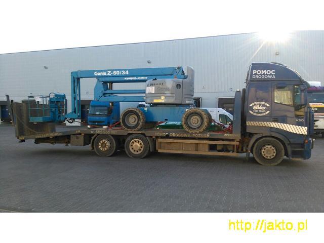 Transport Maszyn Budowlanych Laweta 16 Ton Poznan - 2/5