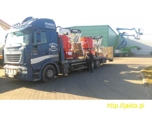Transport Maszyn Budowlanych Laweta 16 Ton Poznan - 3/5