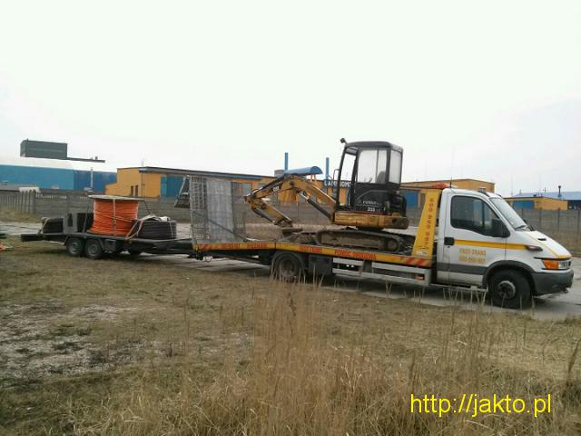 Transport Maszyn Budowlanych Laweta 16 Ton Poznan - 4/5