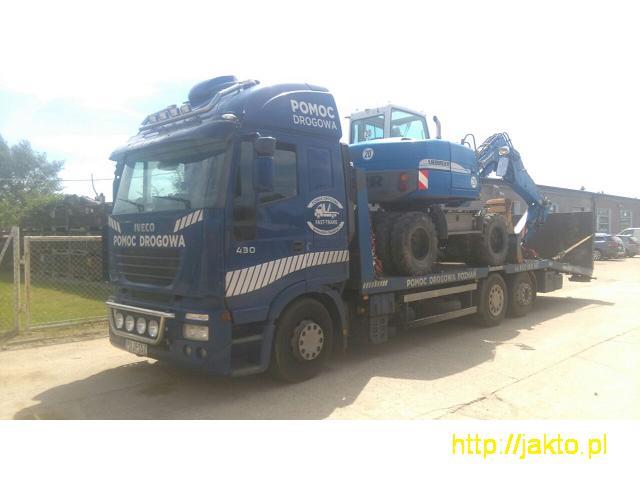 Transport Maszyn Budowlanych Laweta 16 Ton Poznan - 5/5