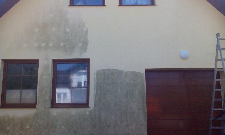 Mycie czyszczenie dachów elewacji sprzątanie po remontach