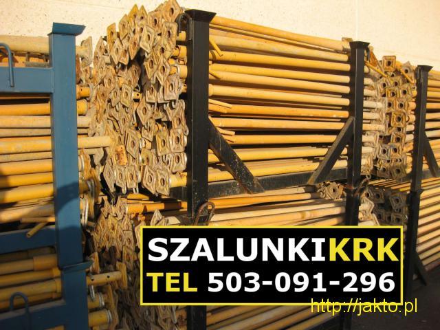 Stemple budowlane, podpory stropowe ! Szalunki Kraków - 1/2