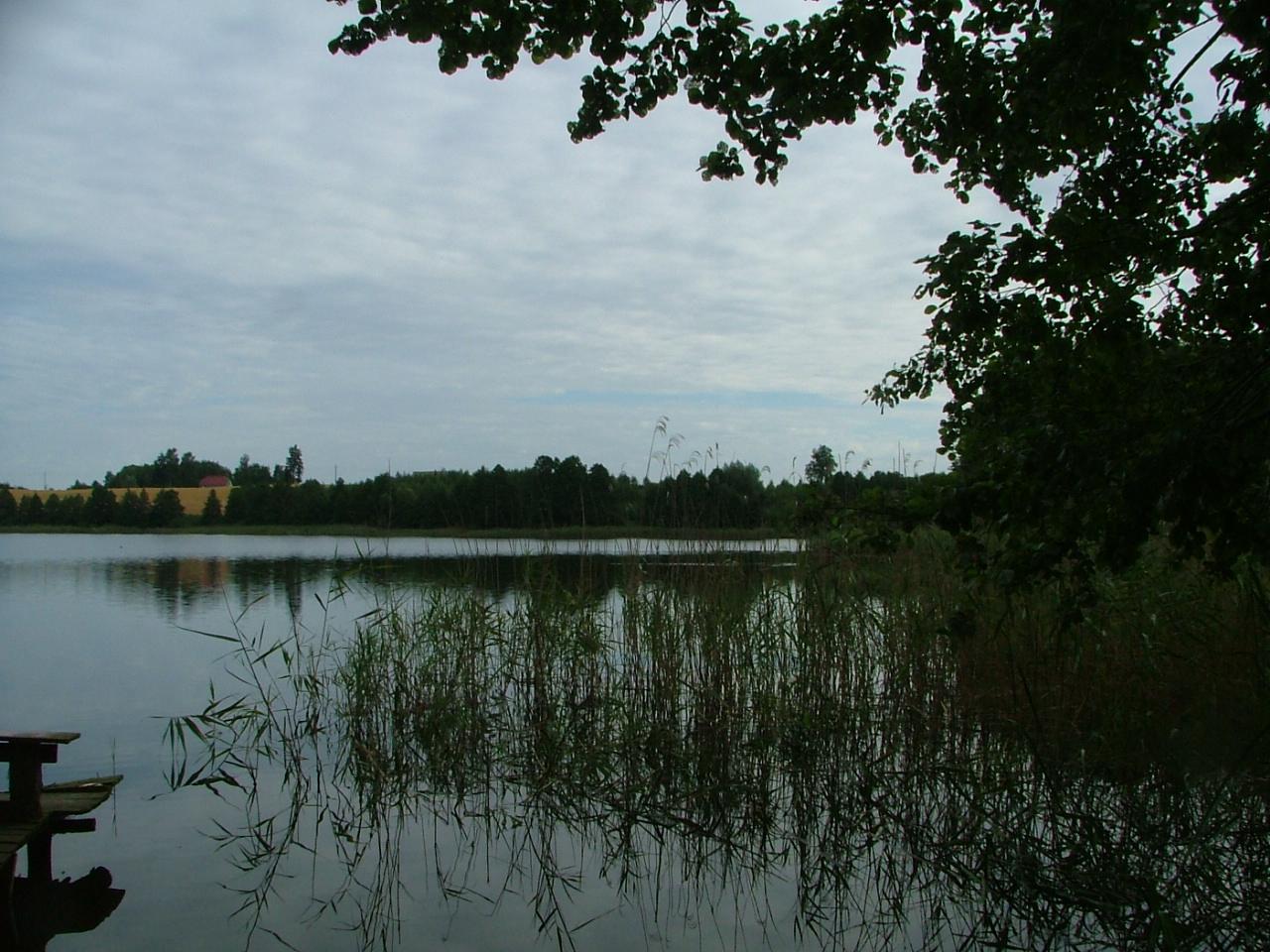 Atrakcyjna działka nad jeziorem