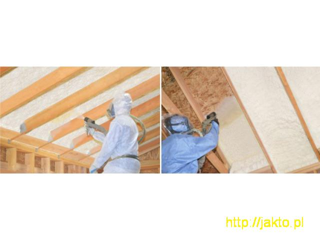 Izolacje natryskowe - skuteczne ocieplenie od fundamentów aż po dach