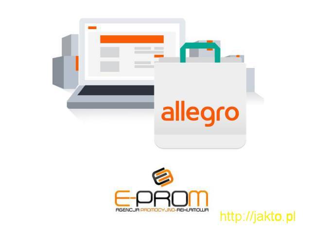 Obsługa konto aukcyjnych Allegro Ebay Amazon - 1/1
