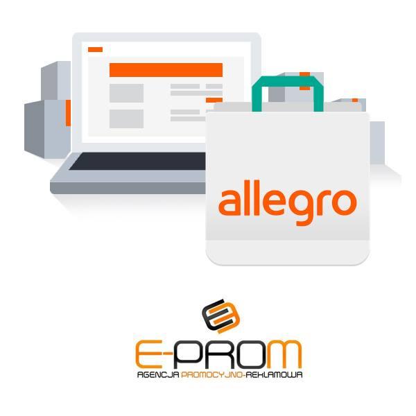 Obsługa konto aukcyjnych Allegro Ebay Amazon
