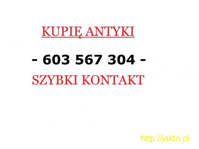 SKUPUJĘ ANTYKI / STAROCIE / DZIEŁA SZTUKI DAWNEJ - ZADZWOŃ - 1/1