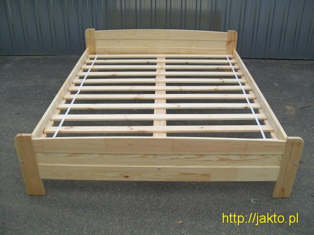 Sprzedam nowe łóżka sosnowe 160x200 l Ceny producenta - 1/4