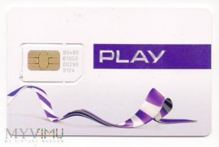 Karta Sim Zarejestrowana do Play + kod bonusowy na 100 zł