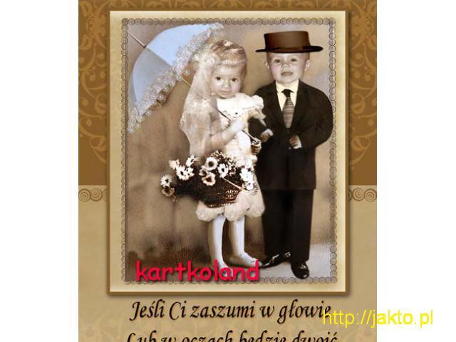 zaproszenia urodzinowe na urodziny ze zdjeciem roczek 18-tka zabawne fotomontaże - 5/11