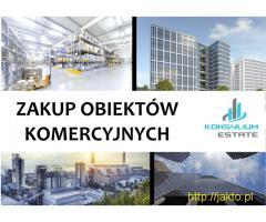 Kupie, Fabryki, hale, magazyny i inne obiekty komercyjne