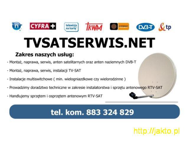 montaż anten satelitarnych Świętochłowice - 1/1
