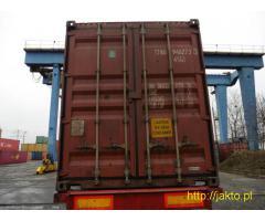 Tanie kontenery 40'HC 4500 PLN netto/szt.