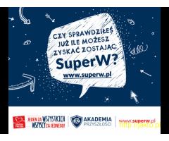 Dołącz do Drużyny SuperW – zostań wolontariuszem AKADEMII PRZYSZŁOŚCI!