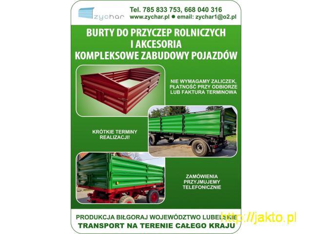 Burty do przyczep – Producent – Transport na terenie całego kraju - 6/6
