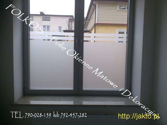 Folie do domu i biura Warszawa- Oklejanie szyb, sprzedaż folii Tarchomin - 2/12