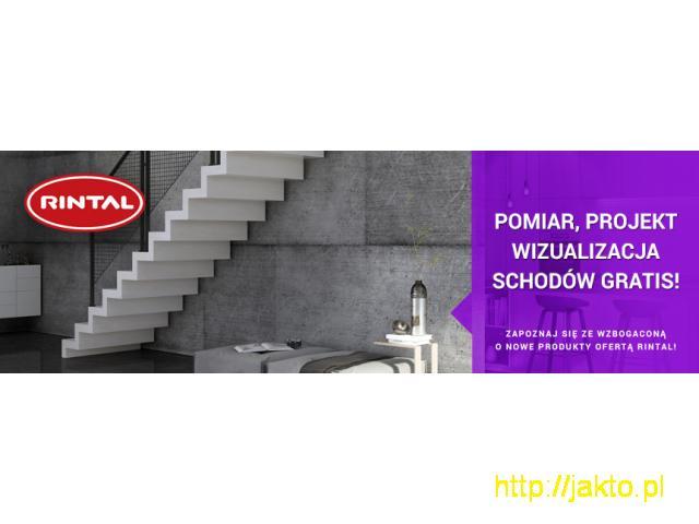 RINTAL Schody - Pomiar, Projekt i Wizualizacja GRATIS