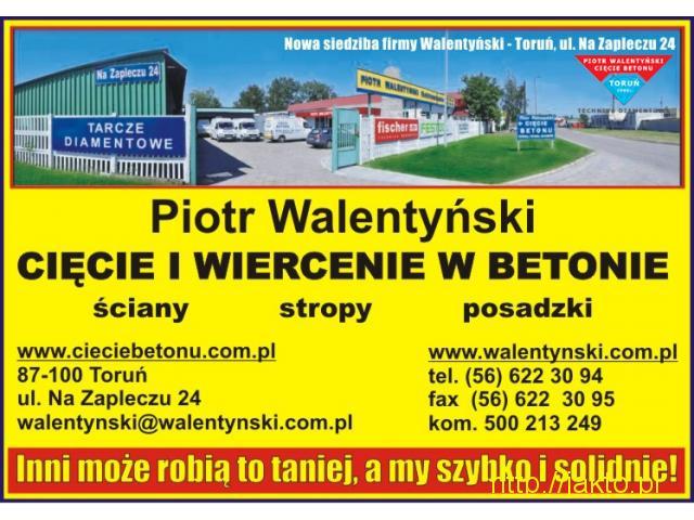 Cięcie dylatacji, cięcie posadzki, wiercenie w betonie, cięcie w betonie, Toruń, Bydgoszcz, Gdańsk - 3/5