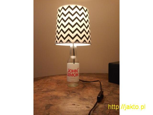 Lampka z BUTELKI na prezent / lampka nocna / vintage / loft - 2/3