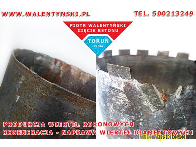 Regeneracja wiertła diamentowego, regeneracja wiertła koronowego, Walentyński Cięcie Betonu