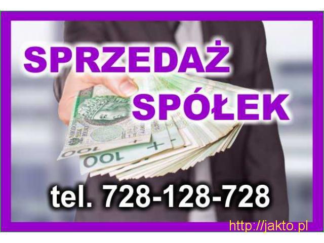 Sprzedam Spółkę - 728-128-728