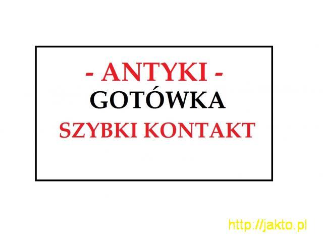 KUPIĘ ANTYKI / STAROCIE / DZIEŁA SZTUKI - PRZED i POWOJENNE - ANTYKI - - 1/1