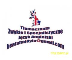 Tłumaczenia Pisemne Język Angielski