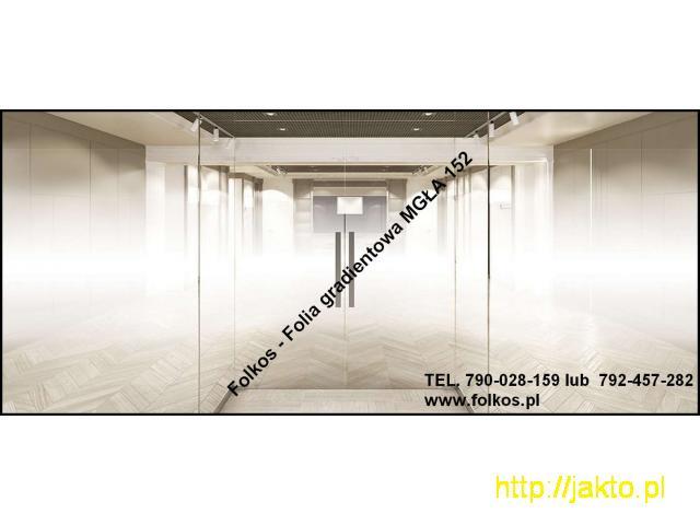 Folie okienne Mińsk Mazowiecki -Oklejanie szyb -Folie matowe Folkos - 10/11