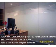 Folia matowa biała MLECZNA Warszawa- Oklejanie - Obraz 4/6