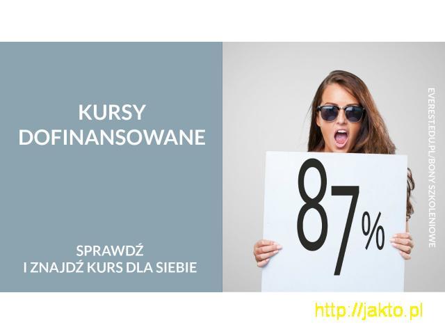 Dofinansowanie do 87% do kursów językowych - 3/4
